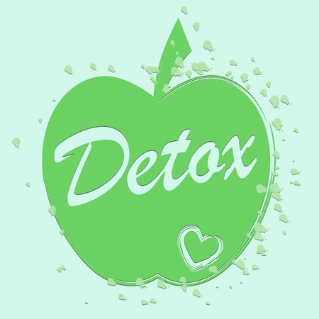 toxins: Health Detox Showing Preventive Medicine And Diet