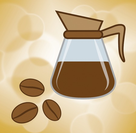 freshest: Fresh Coffee Representing Cafe Natural And Drink