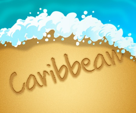 coasts: Caribbean Holiday Showing Go On Leave And Coasts Getaway