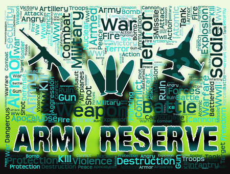 booked: Army Reserve Showing Book Now And Order
