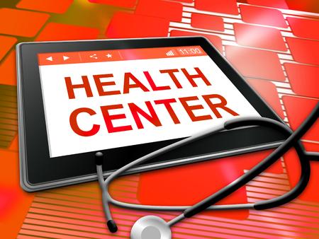 preventive medicine: Health Center Indicating Preventive Medicine And Hospital