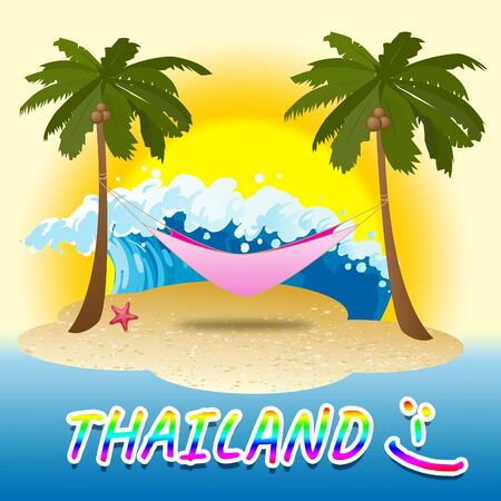 getaways: Thailand Holiday Indicating Summer Time And Asia