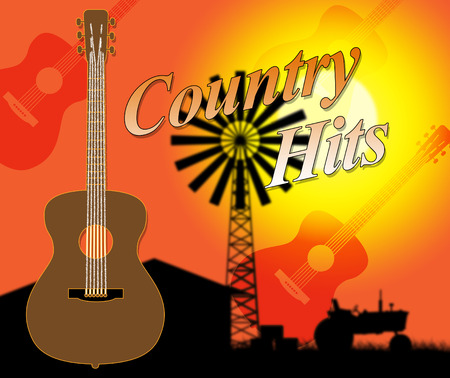 folk music: Country Hits Meaning Folk Music And Charts