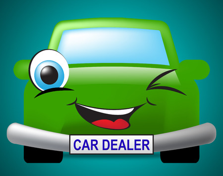 Car Dealer Meaning Business Organisation And Concern Photo
