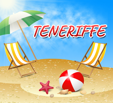 canaries: Teneriffe Vacations Showing Summer Time And Getaway