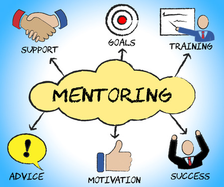 mentors: Mentoring Symbols Meaning Counsellors Business And Mentors