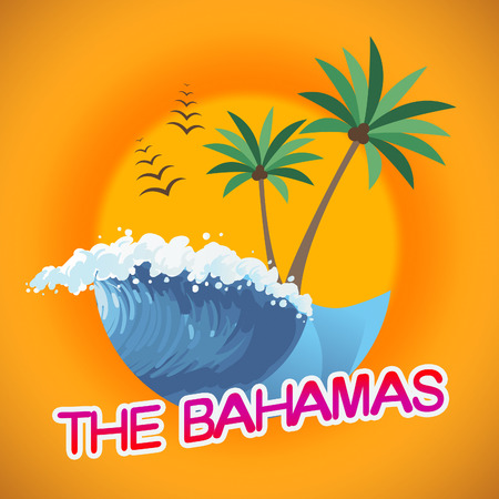 getaways: Bahamas Vacation Indicating Summer Time And Beaches