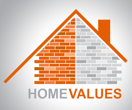 housing prices: Home Values Indicating Selling Price And Cost