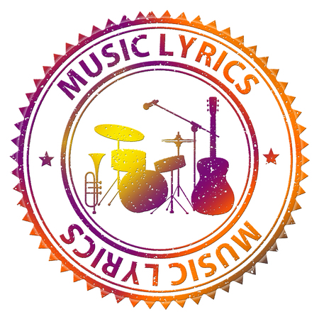 lyrics: Music Lyrics Indicating Sound Track And Acoustic