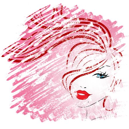 attractiveness: Pink Hair Meaning Facials Care And Elegance