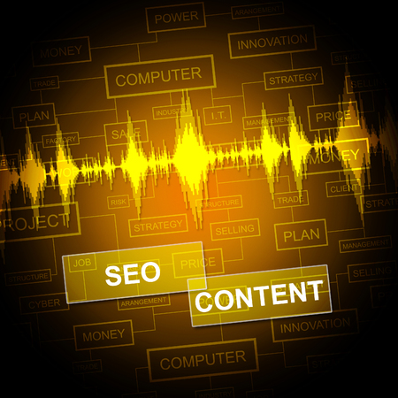 articles: Seo Content Representing Search Engine And Articles