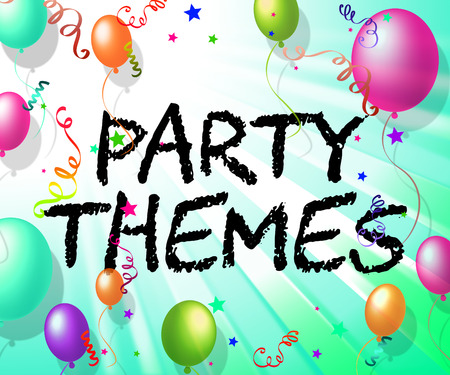 themes: Party Themes Representing Subjects Topics And Topic