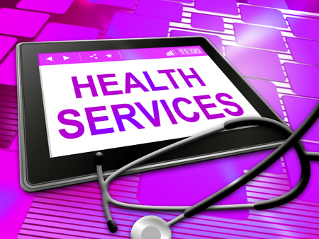 preventive: Health Services Meaning Healthy Care 3d Illustration Stock Photo
