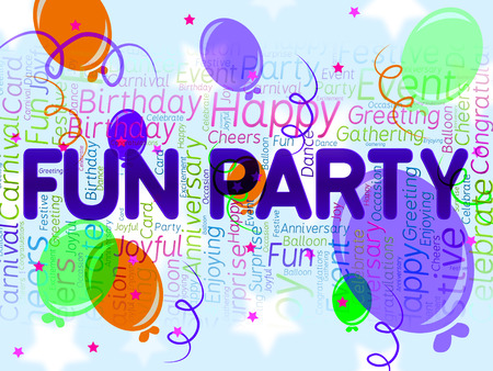 Fun Party Meaning Joyful Cheerful And Celebrations