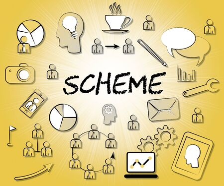 schemes: Scheme Icons Showing Tactic Schemes And Systems