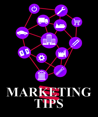 Marketing Tips Showing EMarketing Advice And Promotions
