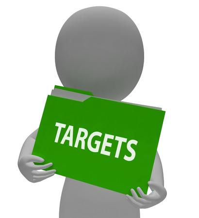 targetting: Targets Folder Meaning Objective Plans 3d Rendering