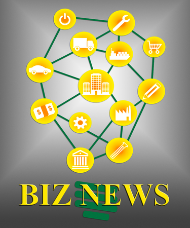 biz: Biz News Meaning Commercial Journalism And Headlines
