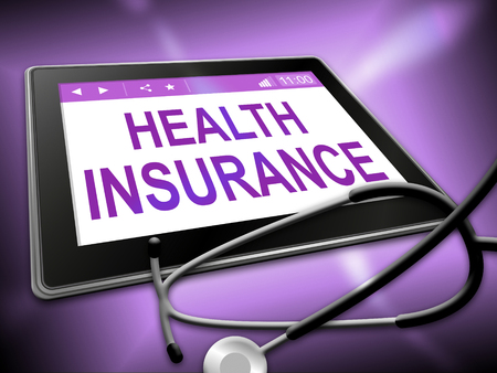 coverage: Health Insurance Showing Coverage Care 3d Illustration