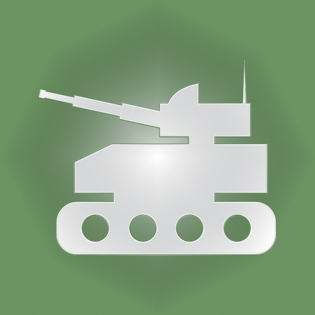 armed: Tank Icon Meaning Armed War And Weapons