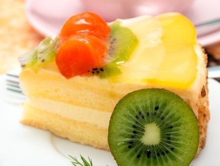gateau: Strawberry Cake Fresh Meaning Tasty Gateau And Freshness
