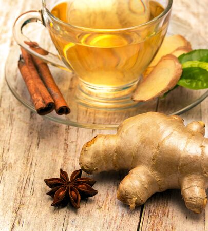 refreshes: Tea With Spices Representing Organics Refreshments And Refreshes