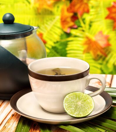 Lime Green Tea Meaning Restaurants Refreshing And Refresh