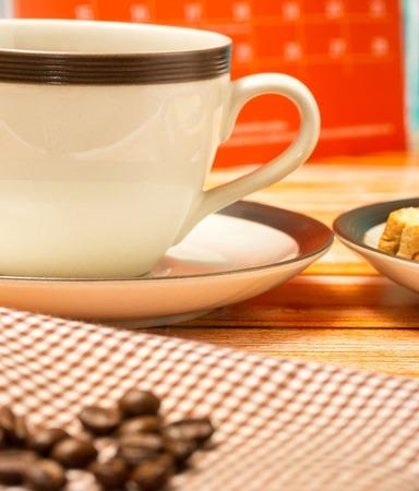 cafeterias: Black Coffee Break Showing Cafeterias Breaks And Caffeine