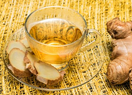 Tea Cup Meaning Ginger Roots And Spiced