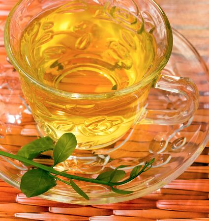 japanese green tea: Japanese Green Tea Representing Beverage Thirsty And Healthy