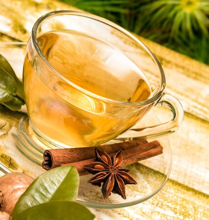 Spiced Ginger Tea Meaning Beverages Natural And Drinks