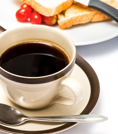 meal time: Breakfast Black Coffee Meaning Meal Time And Breaks