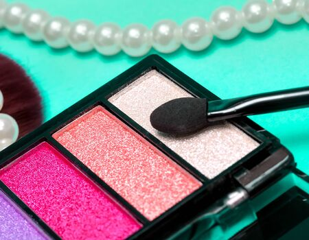 makeups: Eye Shadow Makeup Indicating Beauty Product And Glamour