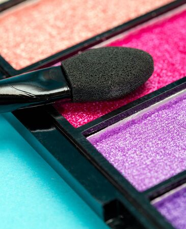 makeups: Eye Shadow Makeup Meaning Beauty Products And Make-Up Stock Photo