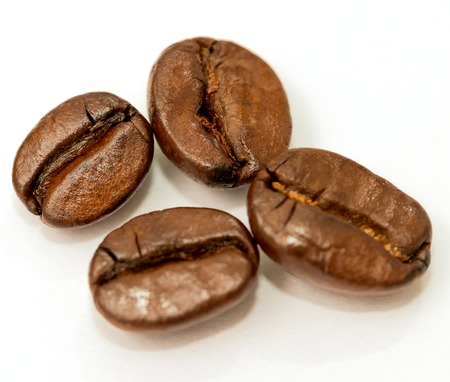 decaf: Fresh Roasted Beans Indicating Coffee Break And Decaf