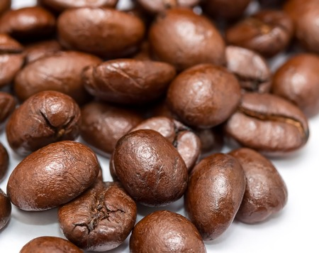 hot coffees: Coffee Beans Showing Hot Drink And Gourmet