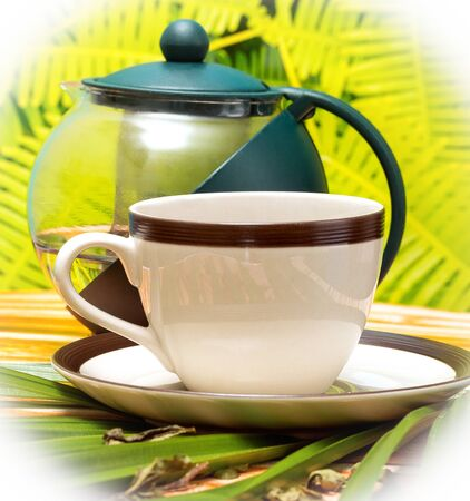 refreshes: Green Tea Cup Meaning Drink Refresh And Cups