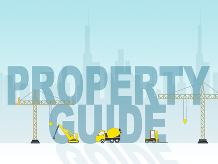 advise: Property Guide Indicating Real Estate Information 3d Illustration Stock Photo