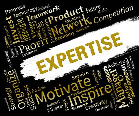 expertise: Expertise Words Indicating Proficient Skills And Experience