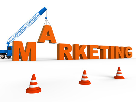 emarketing: Do Marketing Meaning Seo Sales 3d Rendering