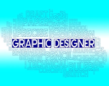 Graphic Designer Meaning Creative Sketch And Designs