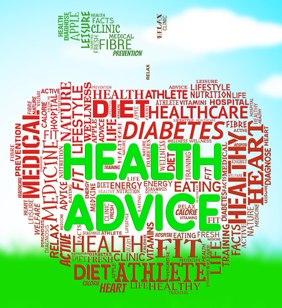 advisory: Health Advice Meaning Wellbeing Guidance And Advisory