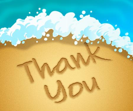 many thanks: Thank You Representing Many Thanks 3d Illustration