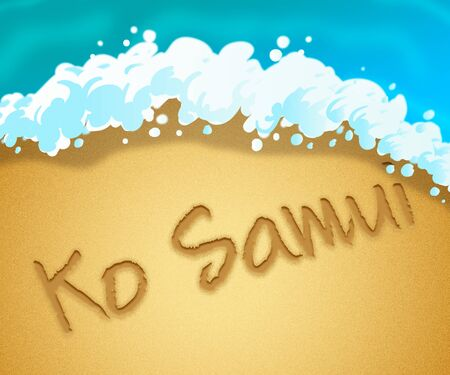 ko: Ko Samui Holiday Showing Go On Leave In Thailand