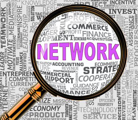 networked: Computer Network Representing Global Communications 3d Rendering