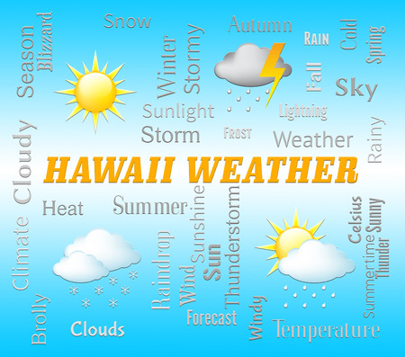 forecasts: Hawaii Weather Showing Hawaiian Outlook And Forecast