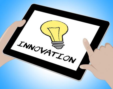 breakthrough: Innovation Online Meaning Creative Breakthrough 3d Illustration Stock Photo