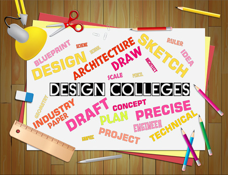 Design Colleges Representing Polytechnics Creativity And Visualization