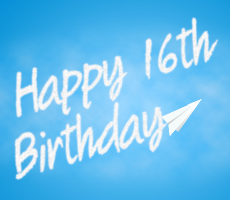 Happy Sixteenth Birthday Meaning 16th Greeting Celebration
