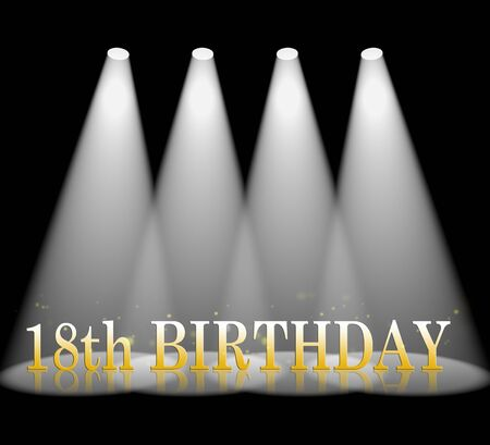 the eighteenth: Eighteenth Birthday Meaning 18th Celebration And Party